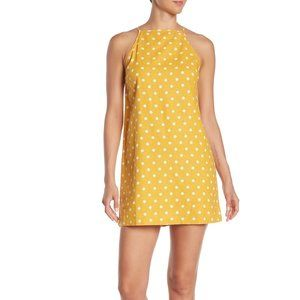 ⭐️3/$25 Abound Yellow Polka Dot Slip Dress